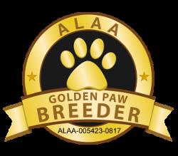 ALAA Gold Paw Breeder